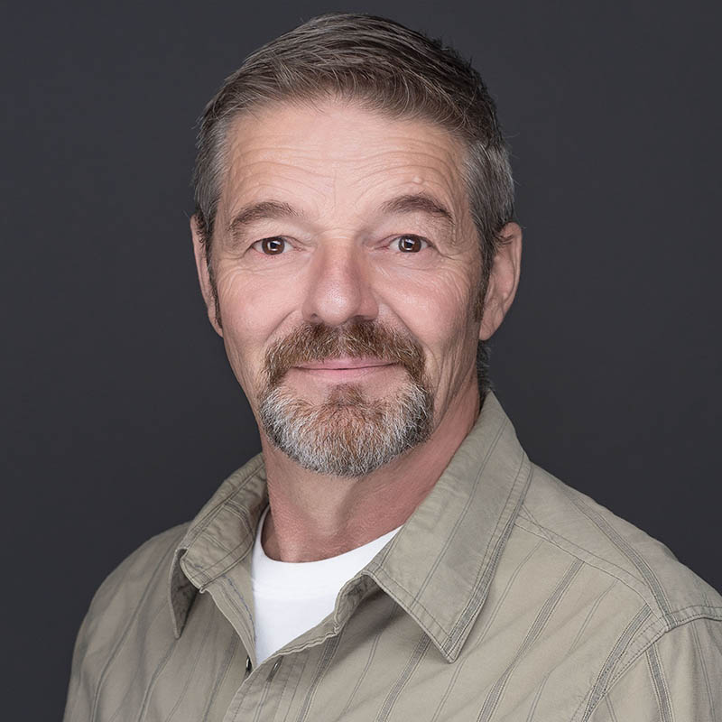 Dale Kiesman, one of our licensed home inspectors