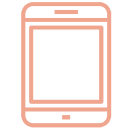 Icon of a tablet used to view a home inspection report