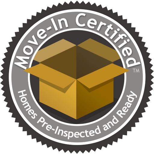 Move-In Certified Homes Pre-Inspected and Ready logo